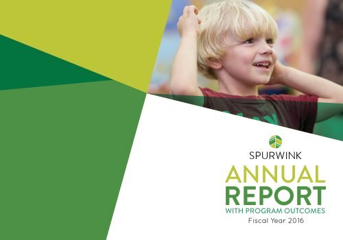 Spurwink Annual Report 2016