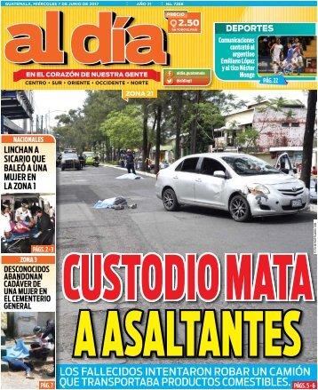 Versión digital de Al Día Guatemala