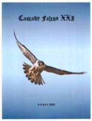2016 Cascade Falcon Encampment XXI Annual