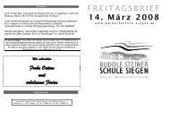 3 * 2&. 0')+ &* -* & .%)1( 02 - Rudolf-Steiner-Schule Siegen Freie ...