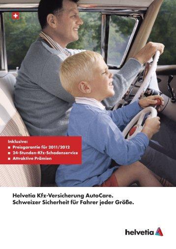 Die Helvetia Kfz-Versicherung AutoCare.