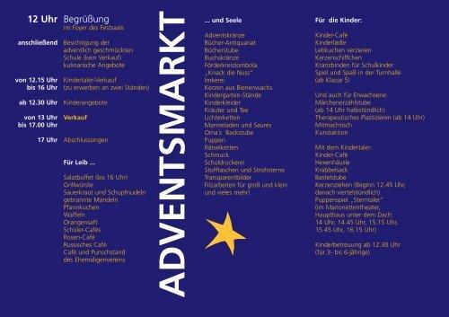 advents markt - Freie Waldorfschule Ludwigsburg