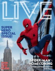 Live Magazine June Edition - Spider-Man!