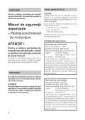 Sony DPF-V800 - DPF-V800 Mode d'emploi Roumain - Page 2