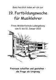 C 2 - Freie Waldorfschule Ludwigsburg