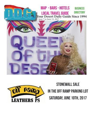 This week June 7 - 13, Palm Springs California Your LGBT Desert Daily Guide Since 1994