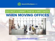 Moving Office Spaces? Avoid these 4 Mistakes