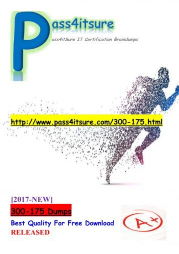 New Pass4itsure Cisco 300-175 Dumps PDF