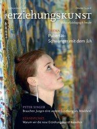 Pubertät Schwanger mit dem Ich - Rudolf-Steiner-Schule