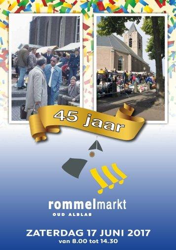 Rommelmarkt Magazine Oud Alblas 2017