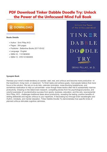 Tinker-Dabble-Doodle-Try-