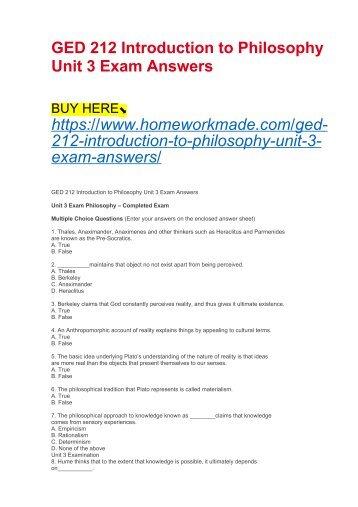 A2 Philosophy: Unit 3 Political Philosophy