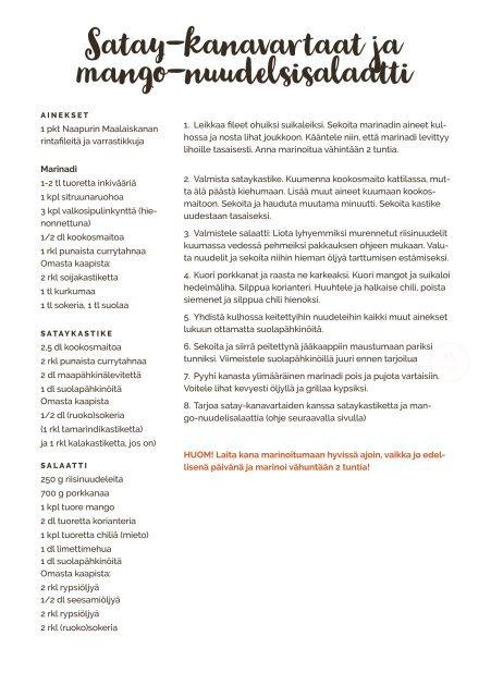 Makuviikko Reseptivihko vko 24 PERHEBOKSI PE