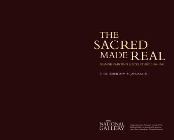 Sacred Made Real - Exhibition Guide - National Gallery