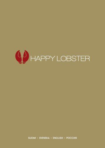 201706 Happy Lobster, menu, Serenade & Symphony