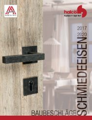 Baubeschläge Schmiedeeisen 2017 - 2020