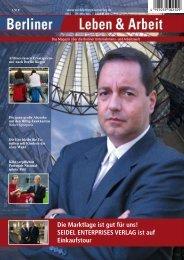 Berliner Leben & Arbeit Print Ausgabe 2008