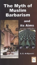 Myth of Muslim Barbarism and its Aims