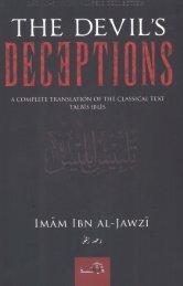 The Devils Deception by Imam Ibn AL-Jawzi