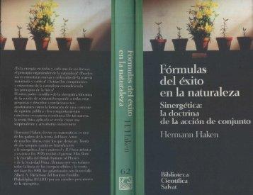 Formulas Del Exito En La Naturaleza - Haken Hermann
