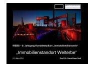 RAG Montan Immobilien GmbH - IREBS Immobilienakademie