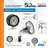 Catálogo general Infra Metron 2017