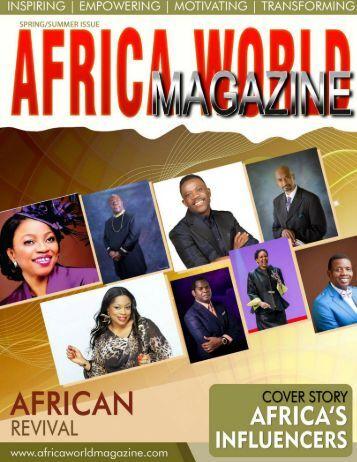 AFRICA WORLD MAGAZINE SUMMER ISSUE 2017