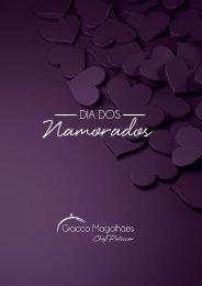 Catálogo dia dos namorados Gracco Magalhães Chef Patissier