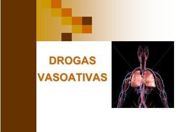 Drogas Vasoativas - Pós