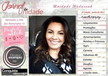JORNAL DE UNIDADE - HADASSAH 062017