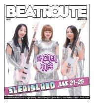 BeatRoute Magazine AB print e-edition - [June 2017]