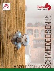 Möbelbeschläge Schmiedeeisen 2017 - 2020