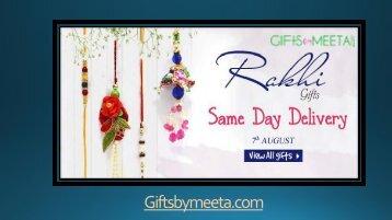 Buy Online Rakhi Gifts 2017 from Giftsbymeeta