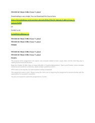 FIN 650 GC Week 5 Mini Case 7 Latest