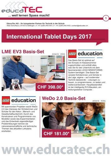 International Tablet Days 2017