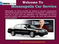 Executive Car Services in Minneapolis