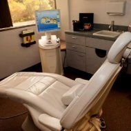 Dental chair at #1 La Mesa cosmetic dentist Hornbrook Center for Dentistry