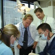 Live patient educational session at Hornbrook Center for Dentistry