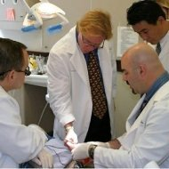 La Mesa dentist Dr. Hornbrook at one of his tutoring sessions