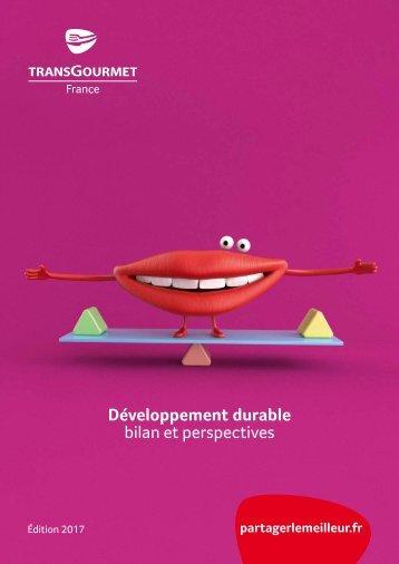 Livret développement durable, édition 2017
