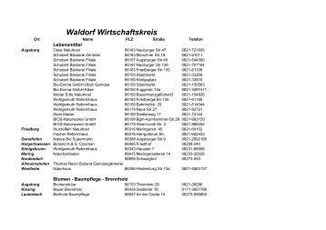 Waldorf Wirtschaftskreis