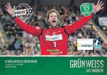 GRÜNWEISS – das Magazin der DHfK-Handballer – Heft 18 – Saison 2016/17