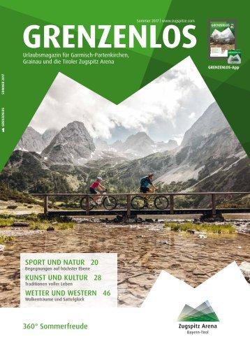 Gästemagazin Grenzenlos Sommer 2017