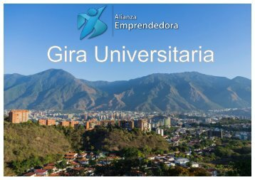 Gira Universitaria, Alianza Emprendedora