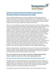 software defined machines market