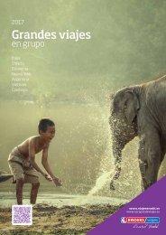 Catálogo Grandes Viajes en grupo 2017