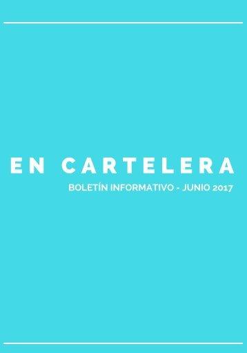 EN CARTELERA JUNIO REVISTA