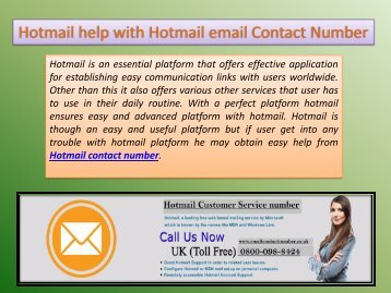 how to change hotmail account