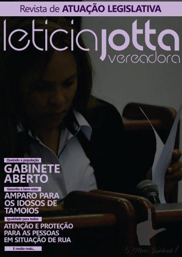 Vereadora Leticia Jotta 5 meses mandato