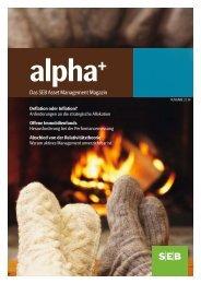 Fondsmagazin alpha+ - SEB Asset Management